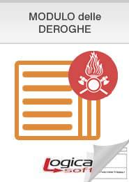 SCHEDULOG ANTINCENDIO - PIN 4 -2018 Deroga